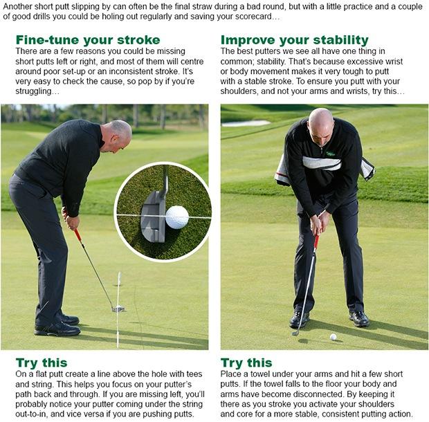 Golf coaching tips