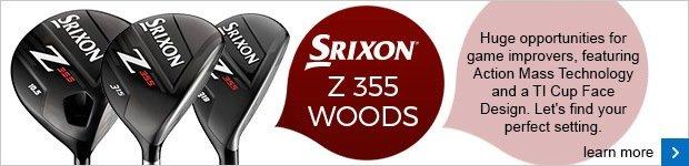 Srixon Z355 woods